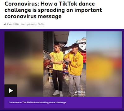 Coronavirus Tik Tok song