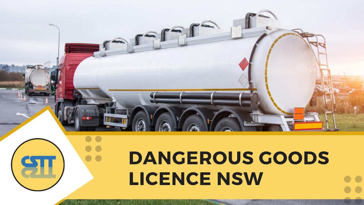 dangerous goods truck training Newcastle