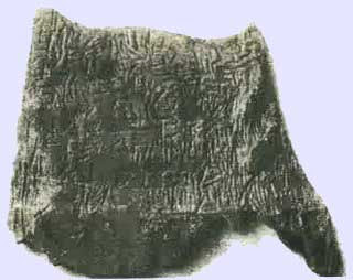 Prehistorc tablet calls into question history of writing