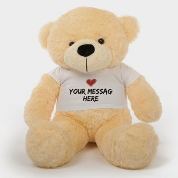 38in Cozy Cuddles Personalized Teddy Bear