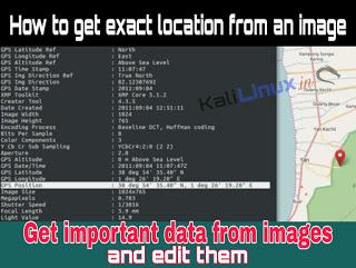 Edit Photo Kali Linux