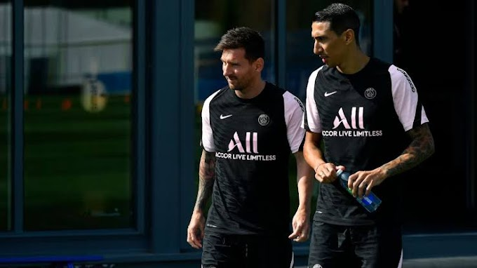 Lionel Messi Is Struggling In Paris As He's Yet To Find A Family Home - Di Maria Reveals
