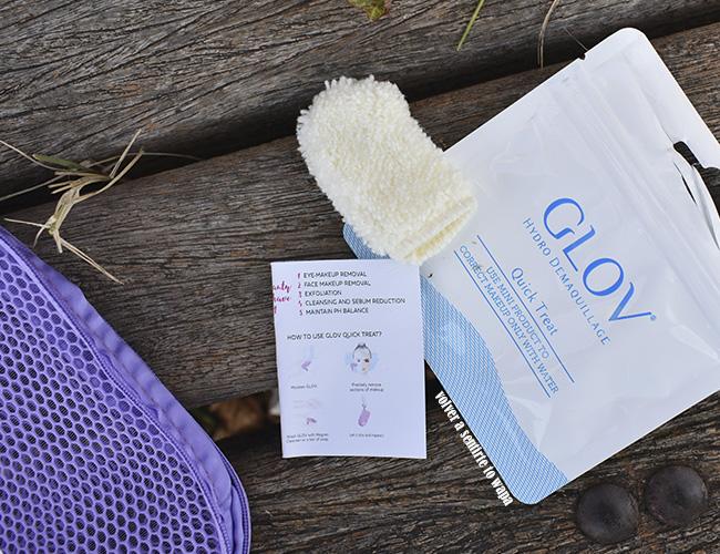 Set de viaje limpiador y desmaquillante de GLOV - Limpiador facial Quick Treat