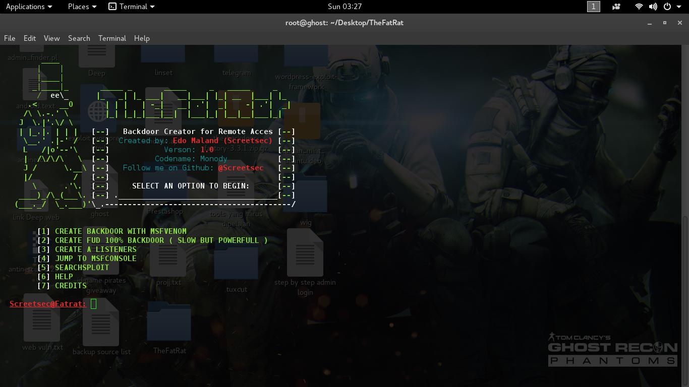 Image result for Cara Membuat Backdoor TheFatRat Bypass Antivirus