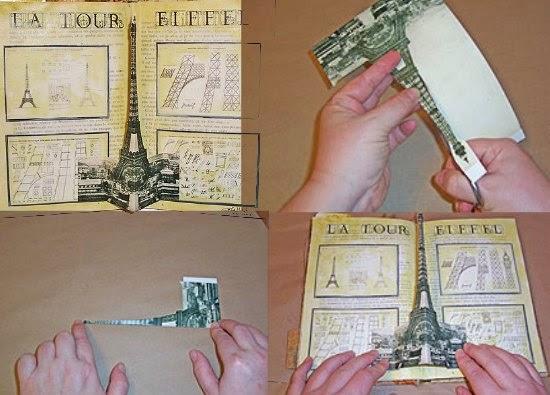 pop-ups, tarjetas, manualidades, libros, alteraciones, diys