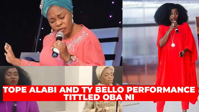 Audio + Video: Tope Alabi Ft. TY Bello – Oba Ni
