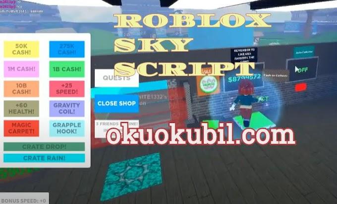 Roblox Sky scraper tycoon script, Para Hilesi İndir 2020