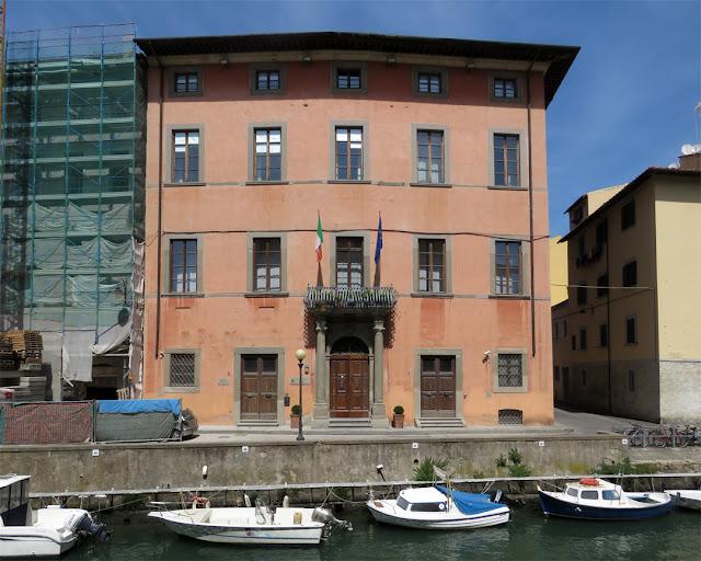 Palazzo Rosciano, Port Authority headquarters, Scali Rosciano, Livorno