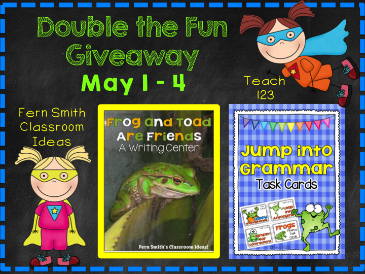 Jump into May with a Giveaway!