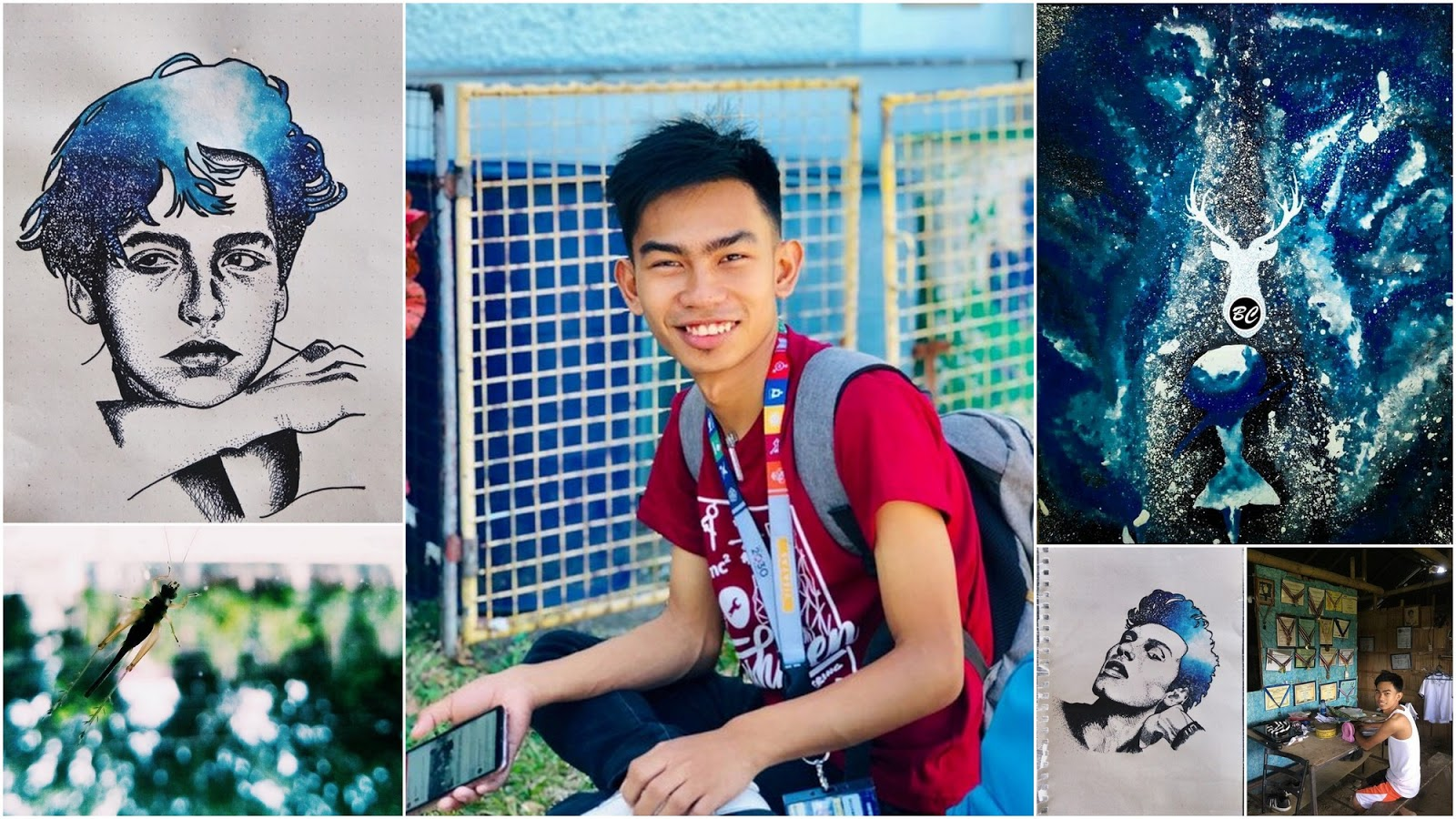 Ben Cantomayor, an SM Foundation scholar, is now a Civil Engineering student at Central Philippine University.
