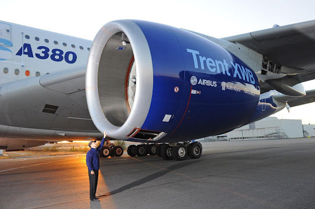 a380 engine to man ratio