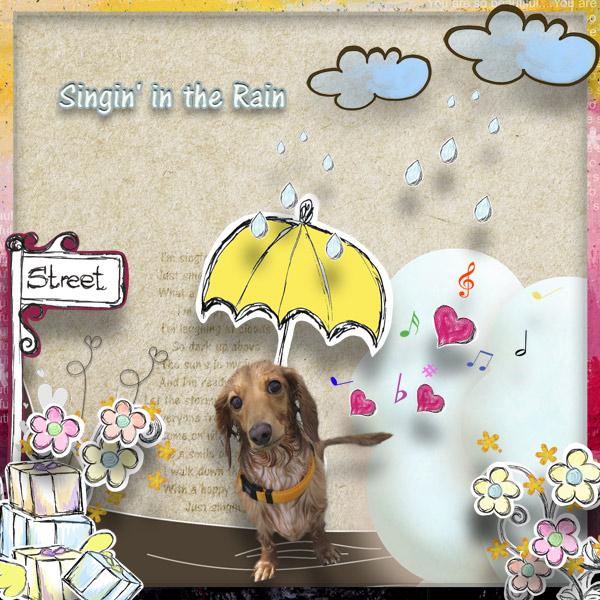 DSB  Singin' in the Rain