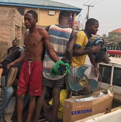 Photos: Security guard and gang kill his employer in Edo State, set the body ablaze and made away with her belongings