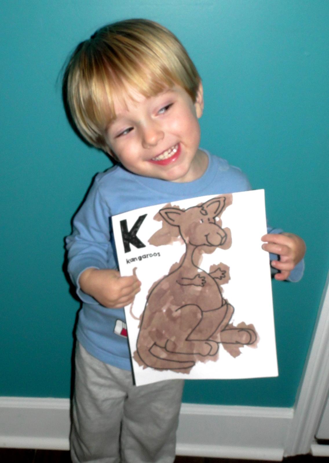 Kye Artwork and Progress Report ~ Spring 2012