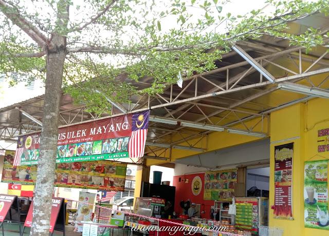 Kedai produk  masakan Kelantan dan Thai di Rawang