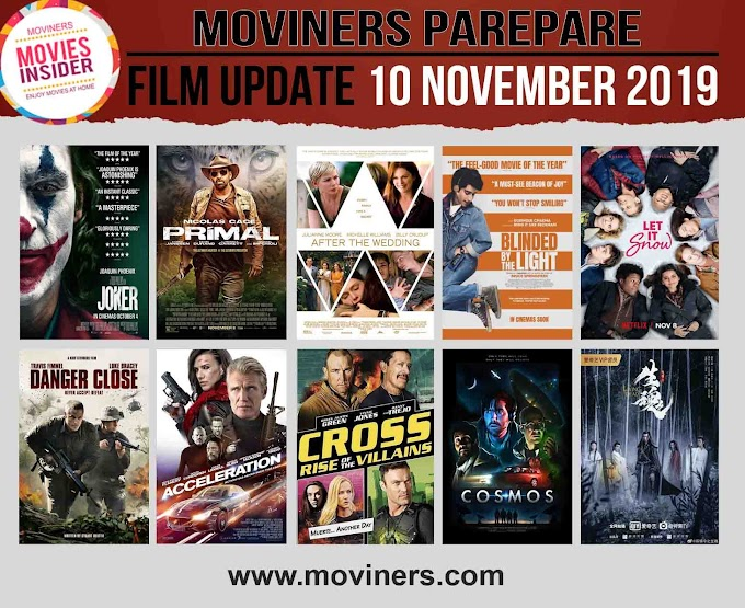 FILM UPDATE 10 NOVEMBER 2019