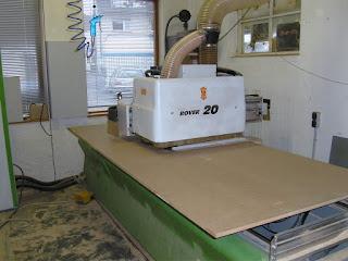 Iso Plus Ausbaupanel CNC Löcher Sternenhimmel Belz