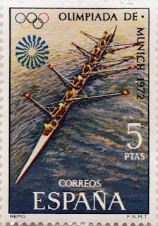 XX JUEGOS OLÍMPICOS MUNICH 1972. REMO