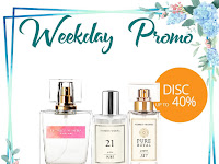 Weekly Promo 21-22 July 2020 Discount up to 40% Luxury, Pure and Pure Royal Collection