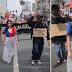 """A Woman Was Seen Wearing The Philippine Flag as Costume on """"The National Day of Protest"""""""