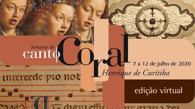 Semana de Canto Coral terá apresentações em vídeo e debates on-line