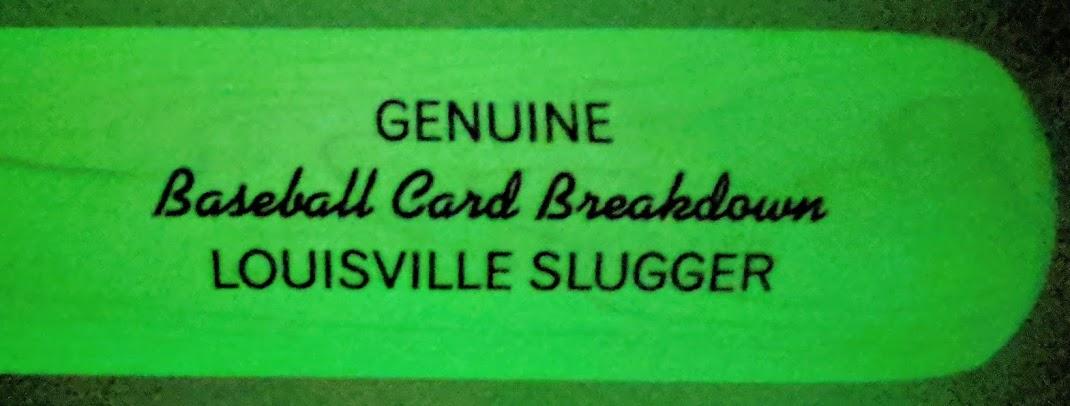 Baseball Card Breakdown