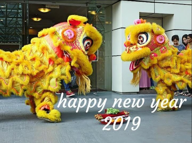 chinese-new-year-2019, Chinese-new-year-lion-dance