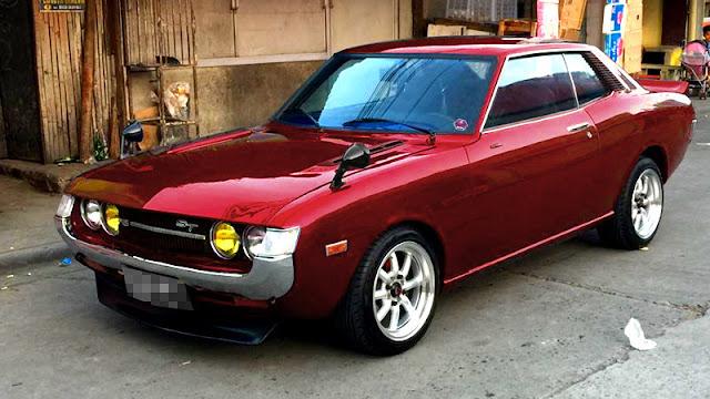 Toyota Celica coupe TA22