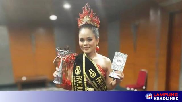 Pelajar Asal Pringsewu Raih Prestasi Diajang Pesona Batik Nusantara Internasional 2020
