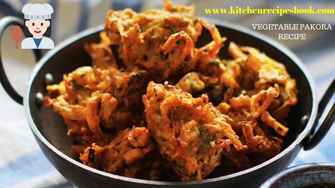 Veg Pakora Recipe | How To Make Homemade Veg Pakora | Vegetable Pakora Recipe |