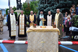 """Ceremonialul de plecare in misiune al Batalionului 811 """"Dragonii Transilvani"""", Dej – Cluj"""