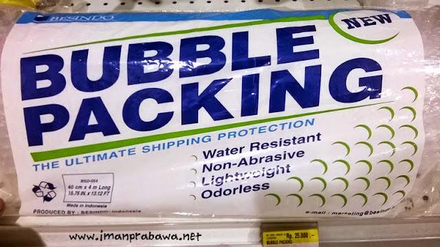 Beli Plastik Bubble Dimana Ya?