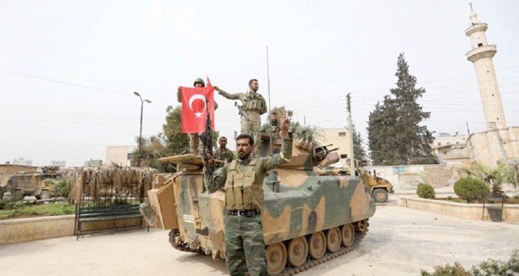 Σαν τις ακρίδες της Αποκάλυψης Τούρκοι και τζιχαντιστές στο Αφρίν