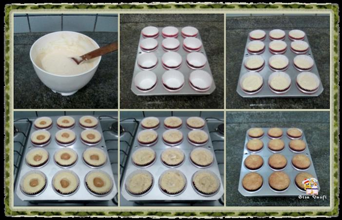Cupcake de guaraná e doce de leite 6