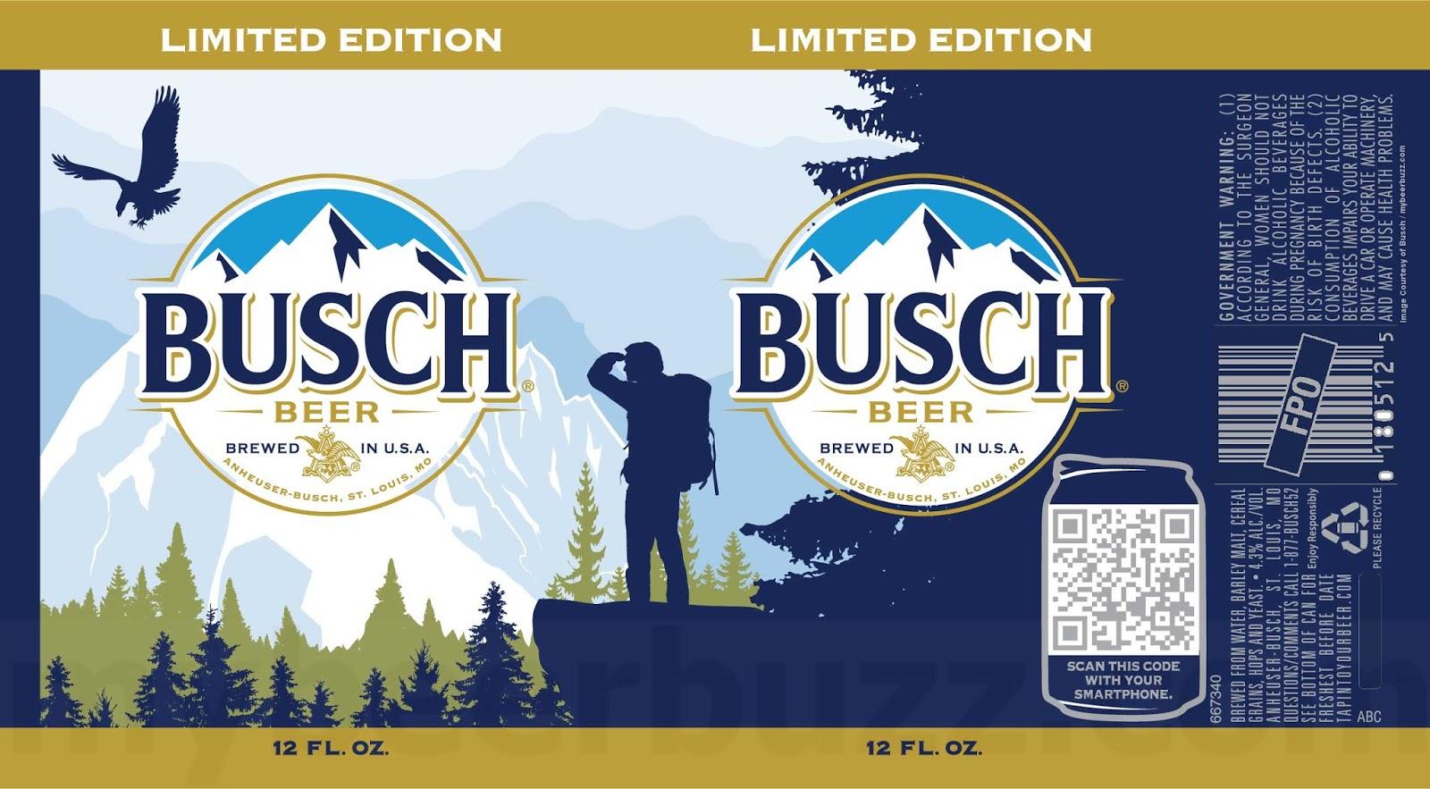 Busch & Busch Light Outdoor Limited Edition Cans Return