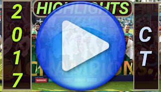 icc champions trophy 2017 matches highlights online