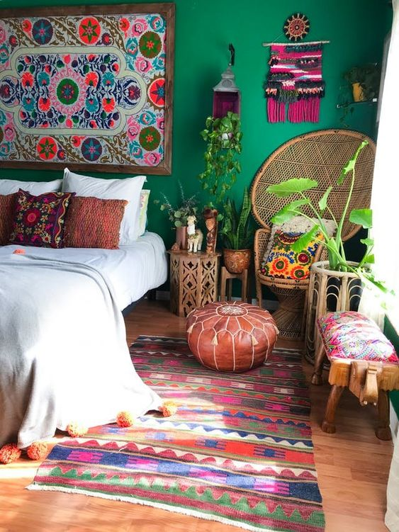 Bold Bohemian Rooms Maximalists Will Love