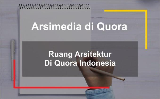 ruang arsitektur di quora indonesia