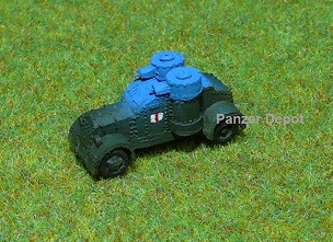 British Austin Armored Car