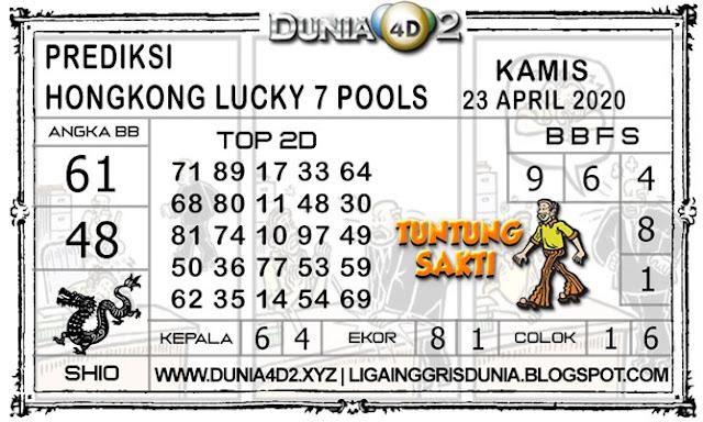 Prediksi Togel HONGKONG LUCKY7 DUNIA4D2 23 APRIL 2020
