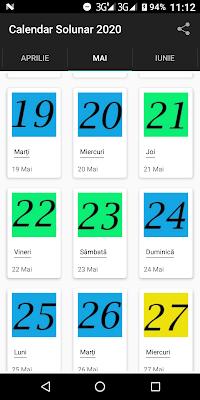 calendar pescuit solunar 2020 mai final