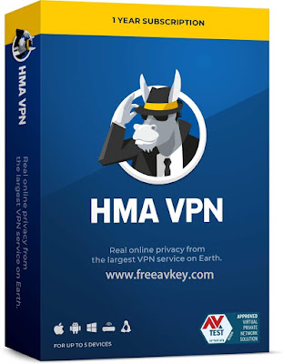 HMA Vpn Premium activation keys
