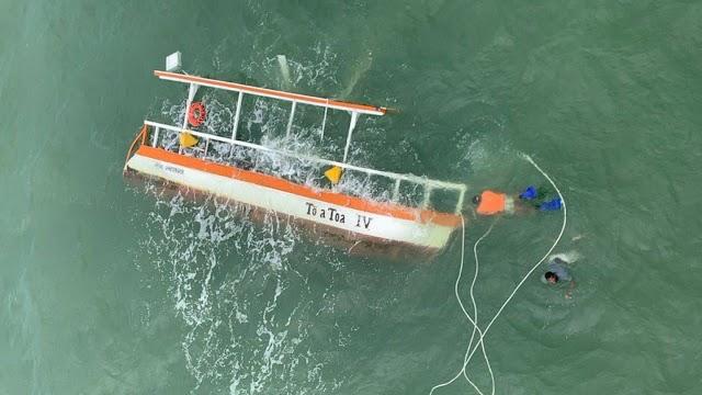 Duas cearenses morrem em acidente com embarcação em Praia de Maragogi/AL
