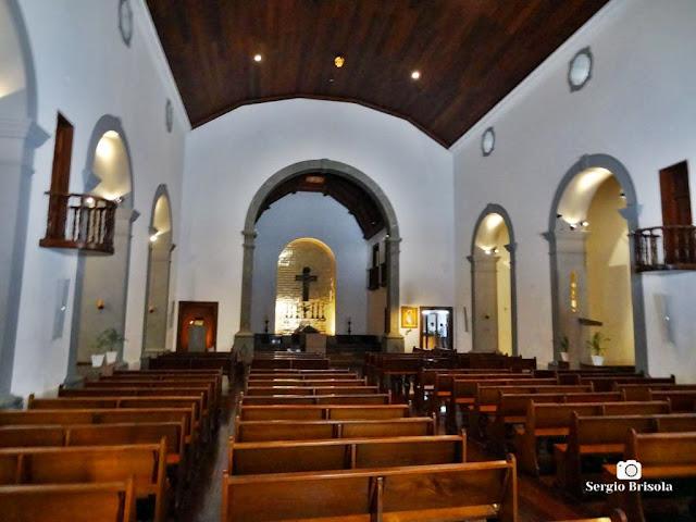 Vista do interior da Igreja São José de Anchieta - Pateo do Collegio - Centro - São Paulo