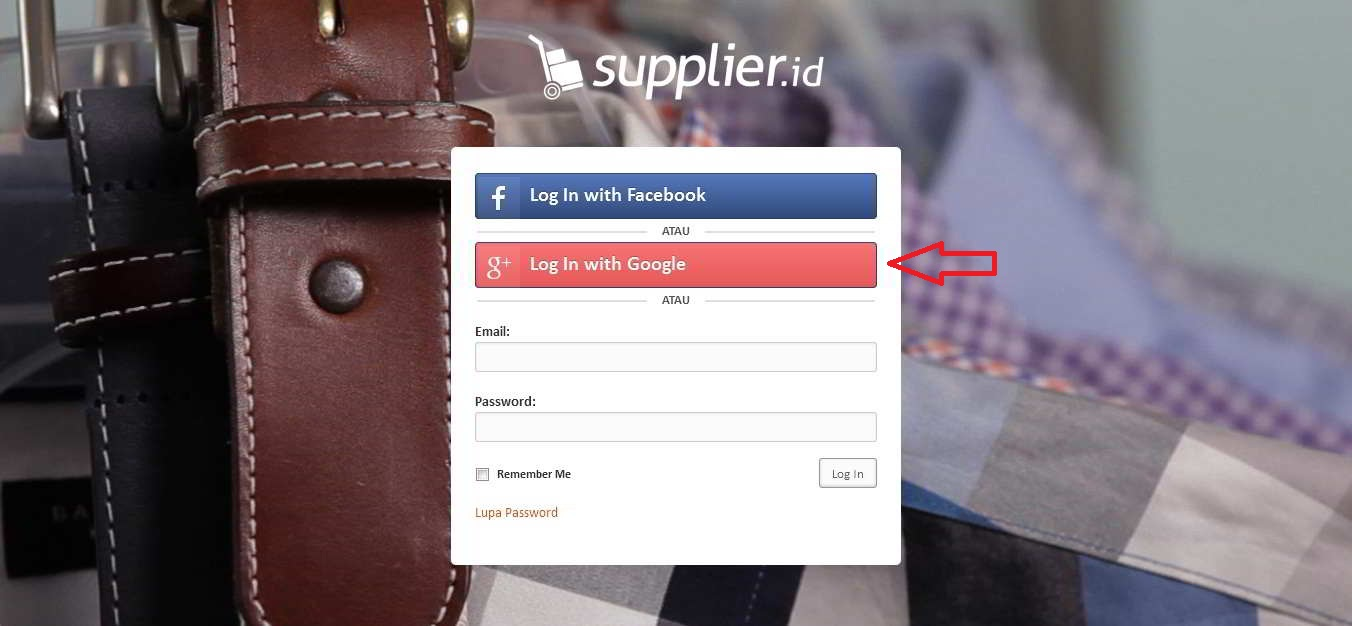 login supplierid