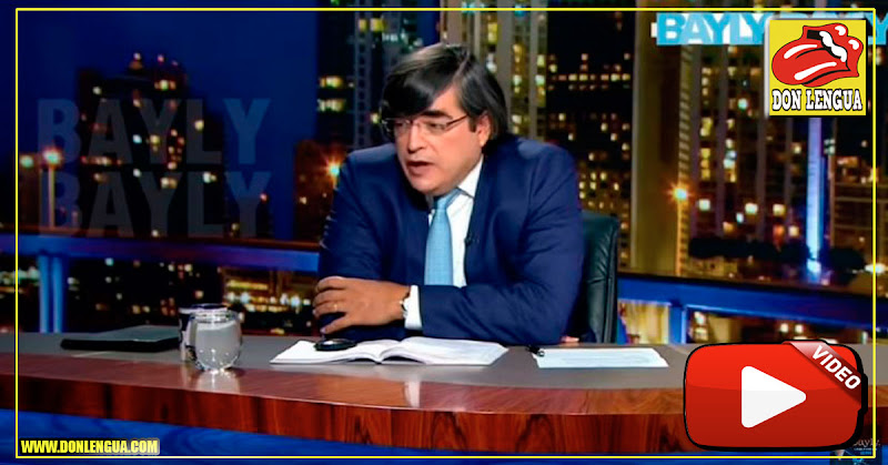 Jaime Bayly se siente decepcionado por Juan Guaidó y su ingenuidad