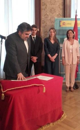 Rodríguez Uribes, nuevo delegado del Gobierno en la Comunidad de Madrid
