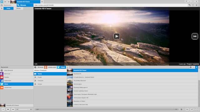 كيفية مشاهدة الفيديوهات على برنامج MotionBox