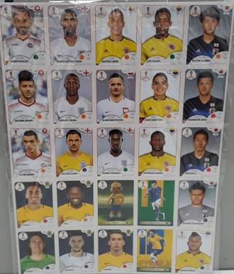 Kit de Atualização das figurinhas Oficiais da Copa do Mundo na Banca Vanildo