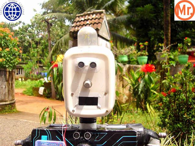 Mr.Robot - A personal mutitalented robot robotechmaker, muhammed azhar